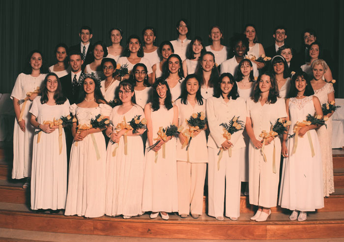 Class of 1996 Commencement Photo
