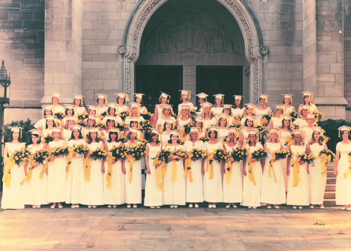 Class of 1966 Commencement Photo